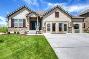Sweetwater Creek New Homes in Spring Hill, KS House Front Elevation