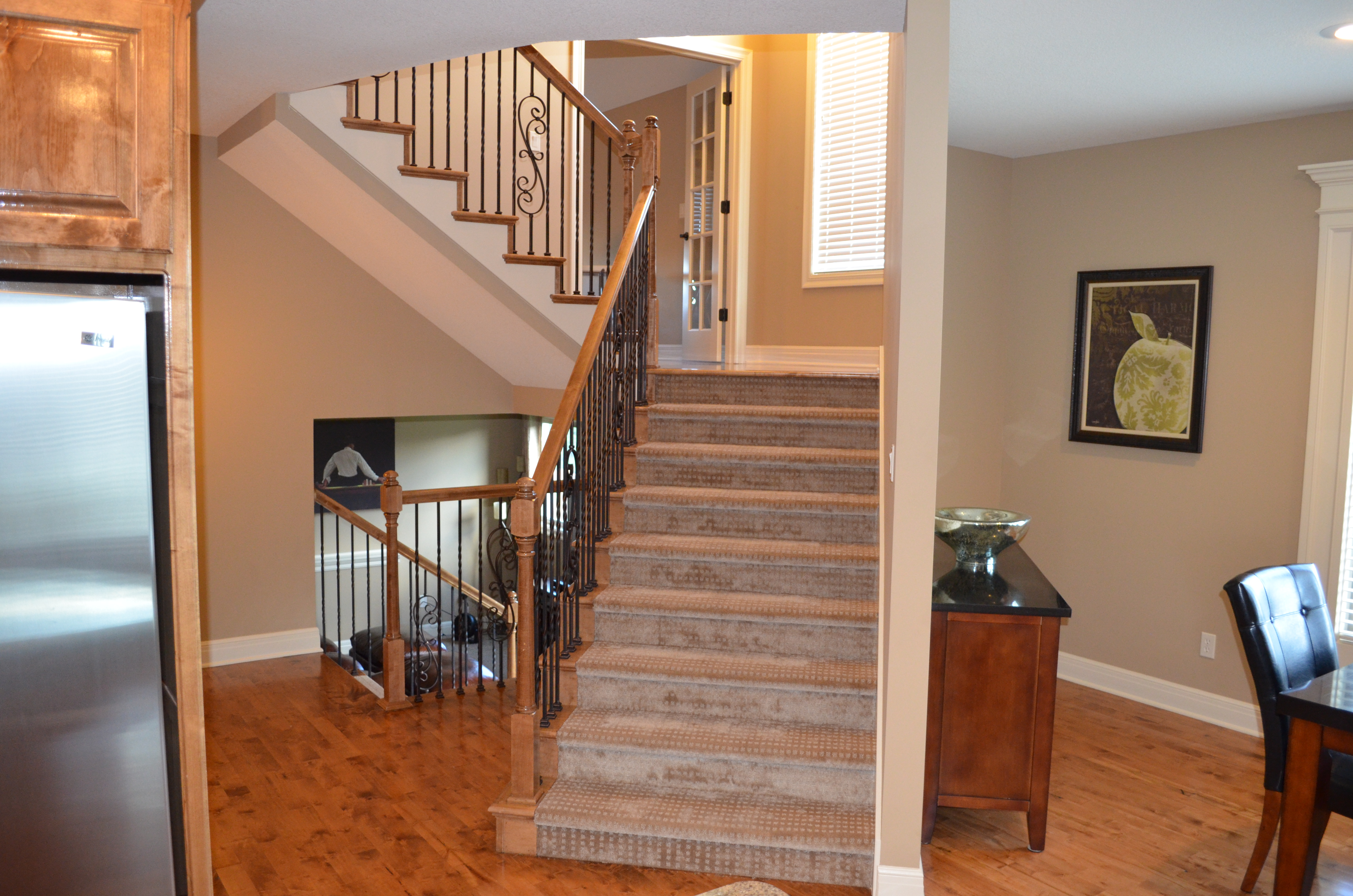 Sweetwater Creek New Homes in Spring Hill, KS Stairway