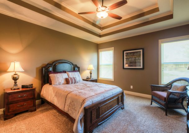Sweetwater Creek New Homes in Spring Hill, KS Master Bedroom