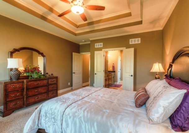 Sweetwater Creek New Homes in Spring Hill, KS The Orvieto Master Bedroom