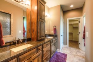 Sweetwater Creek New Homes in Spring Hill, KS The Orvieto Master Bathroom