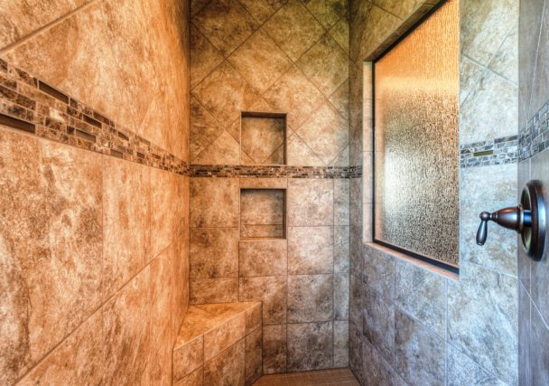 Sweetwater Creek New Homes in Spring Hill, KS The Orvieto Master Shower