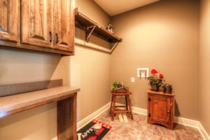 Sweetwater Creek New Homes in Spring Hill, KS The Orvieto Laundry Room