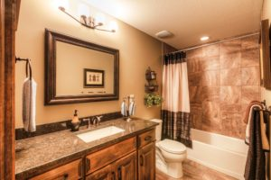 Sweetwater Creek New Homes in Spring Hill, KS The Orvieto Bathroom