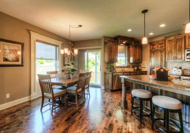 Sweetwater Creek New Homes in Spring Hill, KS The Orvieto Dining