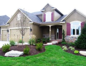 Sweetwater Creek New Homes in Spring Hill, KS Model Home Front Elevation
