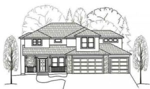 Sweetwater Creek - The Pembrook - Front Elevation