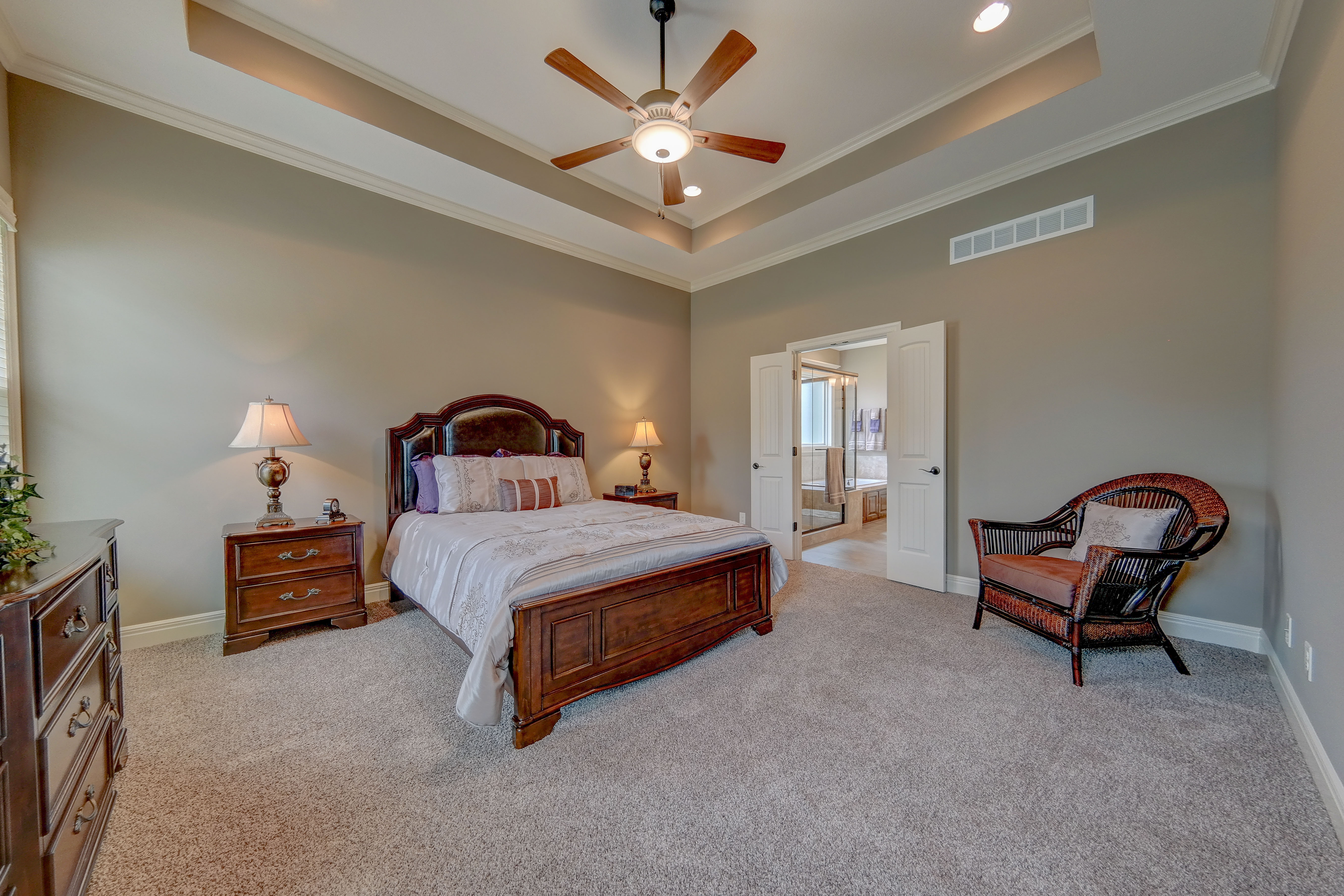 Sweetwater Creek New Homes in Spring Hill, KS The Clearbrook Master Bedroom