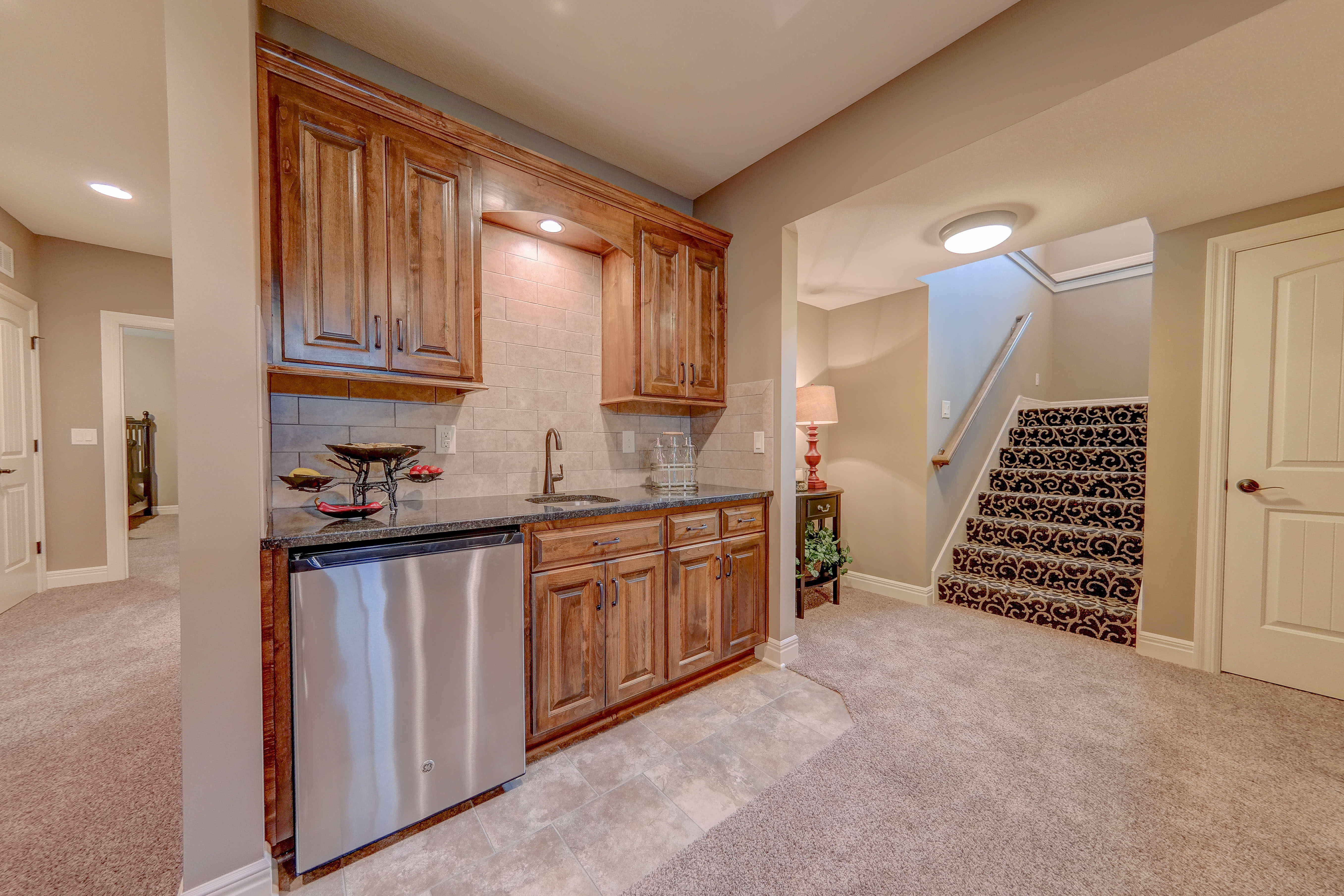 Sweetwater Creek New Homes in Spring Hill, KS The Clearbrook Wetbar