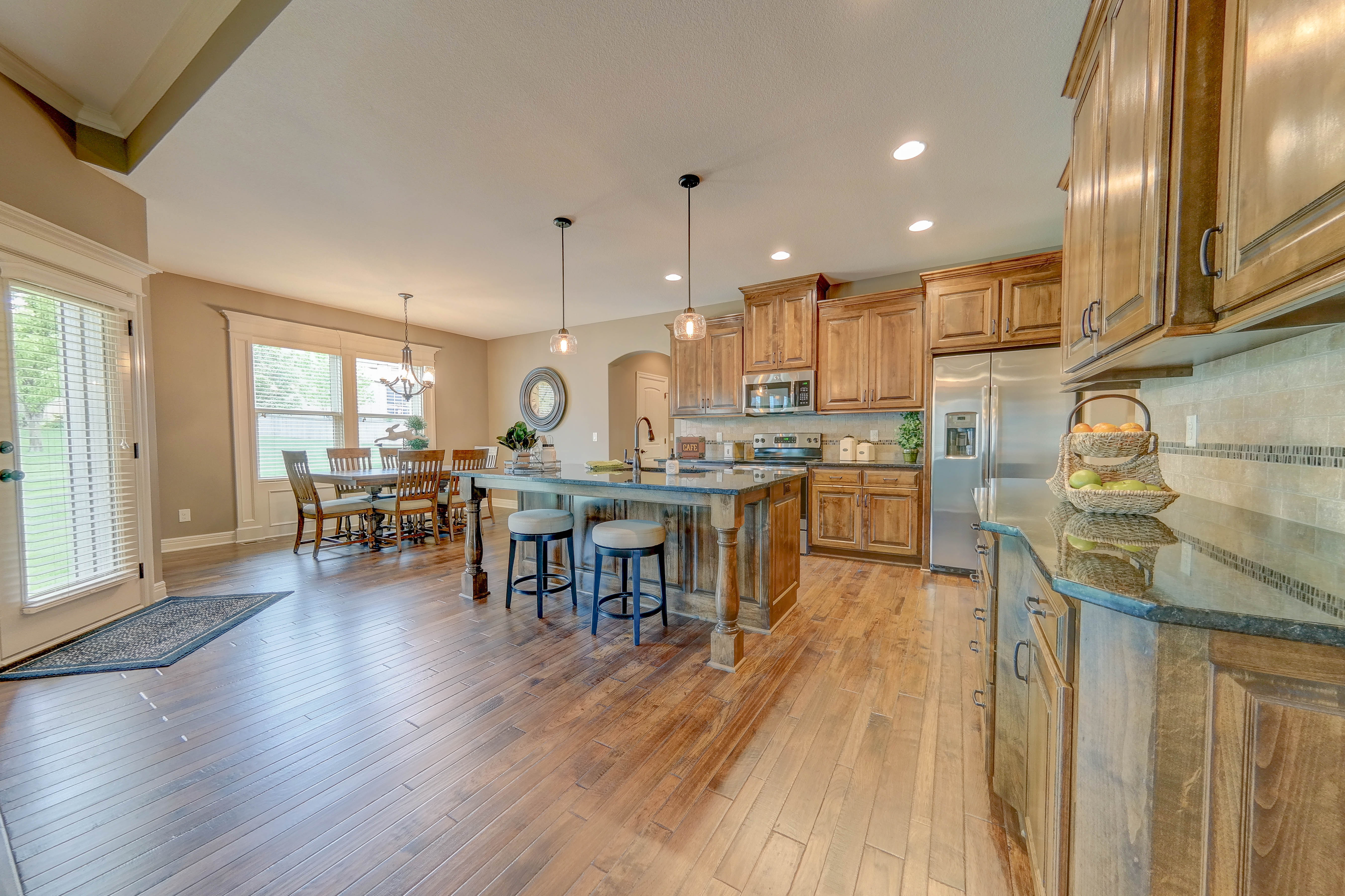 Sweetwater Creek New Homes in Spring Hill, KS The Clearbrook Kitchen