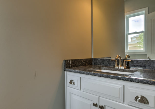 Sweetwater Creek New Homes in Spring Hill, KS The Creekwood Bathroom Vanity
