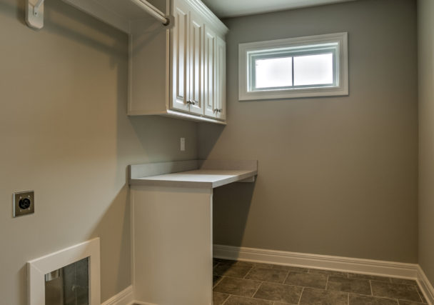 Sweetwater Creek New Homes in Spring Hill, KS The Creekwood Laundry Room