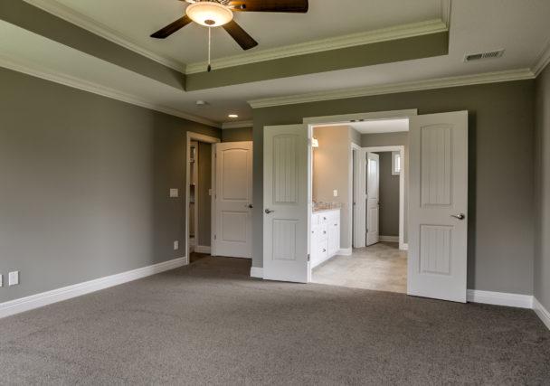 Sweetwater Creek New Homes in Spring Hill, KS The Creekwood Master Bedroom Doors