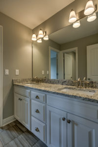 Sweetwater Creek New Homes in Spring Hill, KS The Creekwood Master Bathroom Vanity